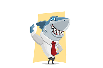 instruct a lawyer shark